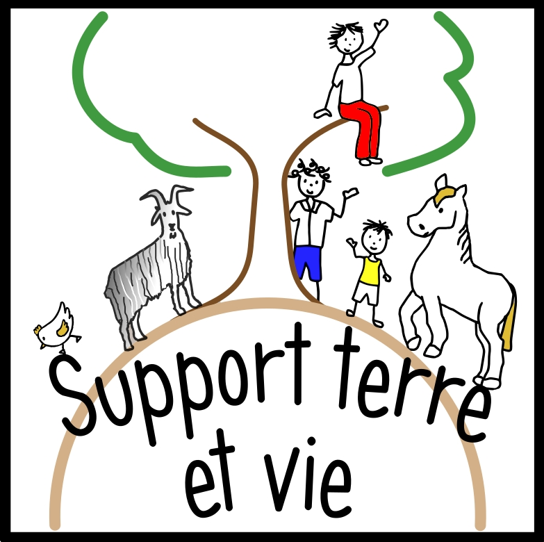 Logo de l'association support terre et vie
